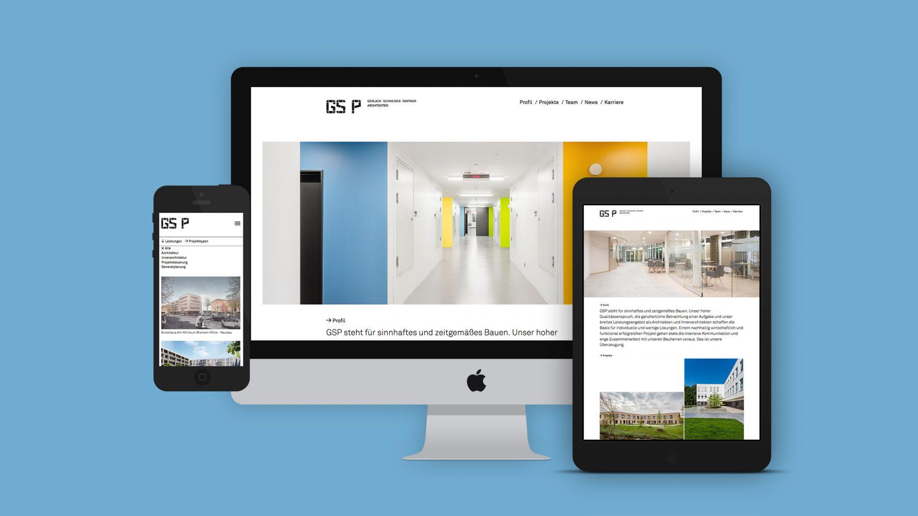 GSP Website overview